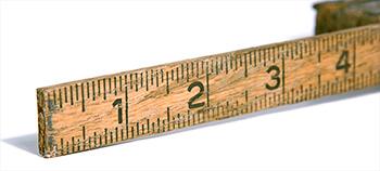 3 inch ruler