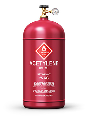 Acetylene Gas Canister