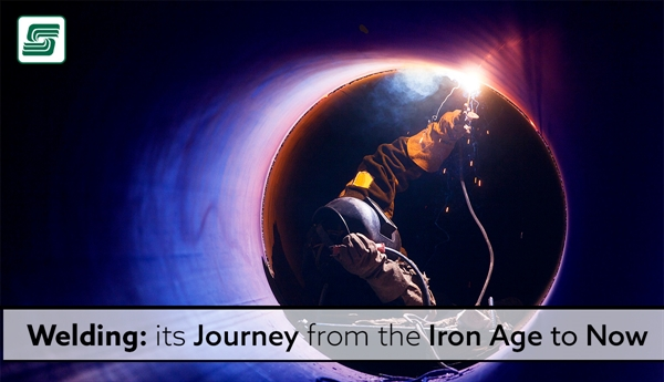 Welding: Its Journey From The Iron Age To Now