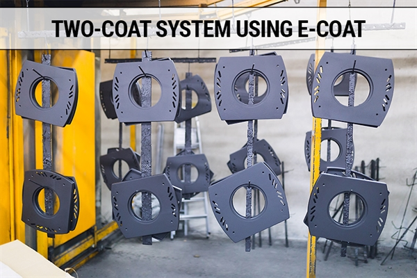 Two-Coat Systems Using E-Coating